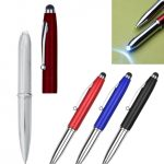 3-in-1 Stylus Pen with LED Flashlight